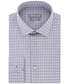 Men's Classic/Regular Fit Non-Iron Dress Check Dre