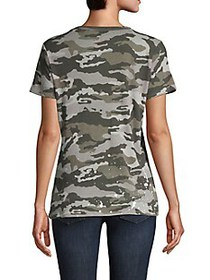 Chaser Camouflage-Print Cotton Tee
