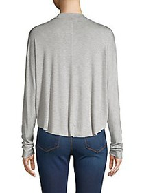 Project Social T High-Low Dolman-Sleeve Top