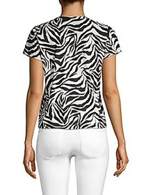 Prince Peter Collections Zebra-Print Short-Sleeve
