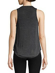 Chaser Printed High-Low Tank Top