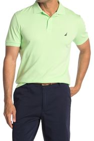 Nautica Interlock Slim Fit Solid Polo