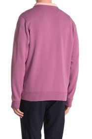 Brooks Brothers Terry Knit Half Zip Sweater