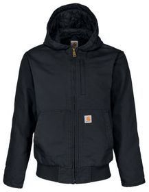 Carhartt Washed Duck Quilt-Lined Insulated Jacket