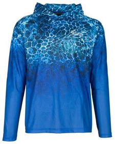 World Wide Sportsman Sublimated Octocoral Long-Sle