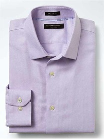 Grant-Fit Non-Iron Textured Shirt