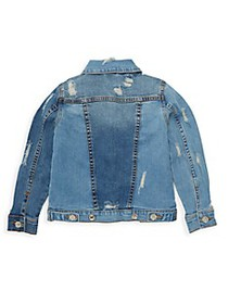 7 For All Mankind Little Girl's Distressed Denim J