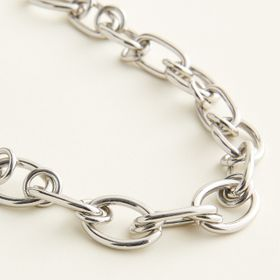 Elizabeth and James Chunky Chain Link Necklace