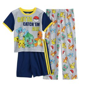 Boys 6-12 Pokemon Catch 'em Top, Shorts & Pants Pa