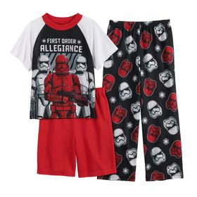 Boys 6-12 Star War Episode 9 Storm Top, Shorts & P