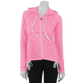 Energie Drawstring Hi-Low Jacket - Juniors