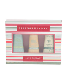 CRABTREE & EVELYN Holiday Hand Therapy Set