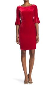 BODEN Aubrey Velvet Dress