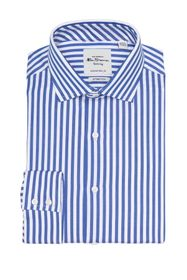 Ben Sherman Royal Sateen Bengal Stripe Slim Fit Dr