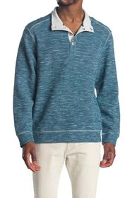 Tommy Bahama Beach Breeze Snap Mock Neck Sweatshir