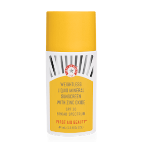 First Aid Beauty Weightless Liquid Mineral Sunscre
