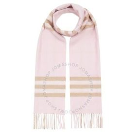 Burberry Burberry The Classic Check Fringed Cashme