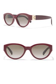 Givenchy 52mm Oval Sunglasses