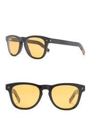 Ermenegildo Zegna 53mm Square Sunglasses