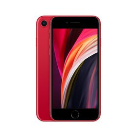 Simple Mobile iPhone SE (2020) w/ 64GB, Red