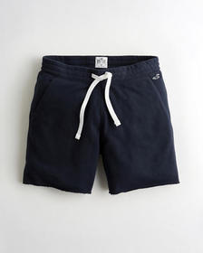 "Hollister Must-Have Terry Jogger Short 7"", NAVY"