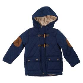 Toddler Boy Perry Ellis Suede Quilted Jacket