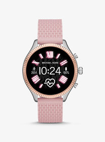 Michael Kors Gen 5 Lexington Two-Tone and Silicone