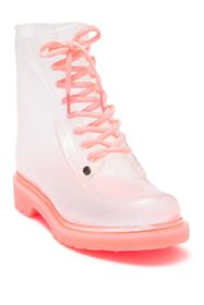 Workshop Ginny Pink Fluorescent Sole Rainboots