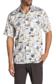 Tommy Bahama Belavita Surf Club Short Sleeve Tropi