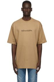Balenciaga - Brown Symbolic T-Shirt