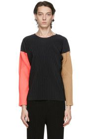 Homme Plissé Issey Miyake - Black Pleated Tricolor