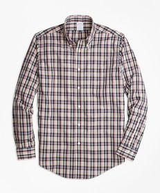 Brooks Brothers Non-Iron Regent Fit Mini-Madras Sp