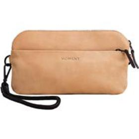 Moment Crossbody Wallet, Natural Leather