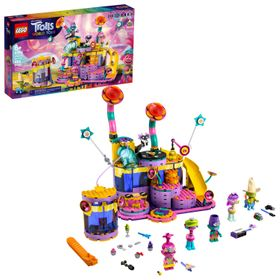LEGO Trolls World Tour Vibe City Concert (41258) B