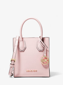 Michael Kors Mercer Extra-Small Pebbled Leather Cr