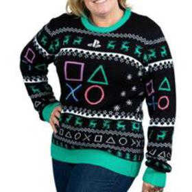 PlayStation Symbols Holiday Sweater