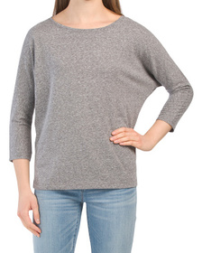 Dolman Scoop Neck T-shirt