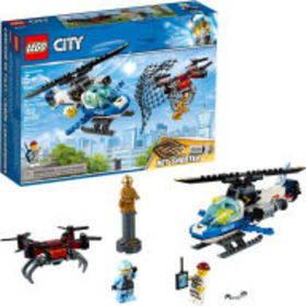 Title: LEGO City Police Sky Police Drone Chase 602