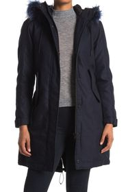 G-STAR RAW Rovic Faux Fur Boyfriend Padded Parka