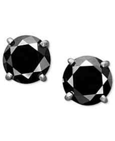 Black Diamond Stud Earrings (1 to 2 ct. t.w.) in 1