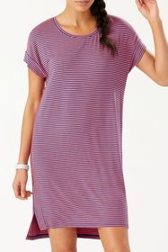 Tommy Bahama Cassia Stripe T-Shirt Dress