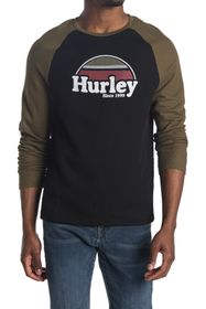 Hurley Thermal Raglan Long Sleeve Tee