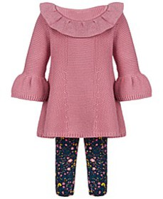 Baby Girls Sweater Tunic Set, Created for Macy's
