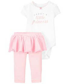 Carters Baby Girl 2-Piece Princess Bodysuit & Tutu