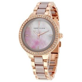 Anne Klein Anne Klein Taupe Mother of Pearl Dial L