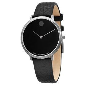 Movado Movado Modern 47 Quartz Black Dial Ladies W