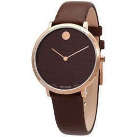 Movado Movado Modern 47 Quartz Brown Dial Ladies W