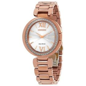 Citizen Citizen Capella Diamond Silver Dial Ladies