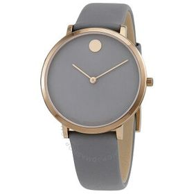 Movado Movado Ultra Slim Quartz Grey Dial Ladies W