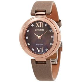 Citizen Citizen Capella Diamond Taupe Dial Ladies